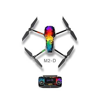 DJI Mavic 2 Pro/Zoom Su geçirmez UV Dayanýklý PVC Koruma Sticker SD