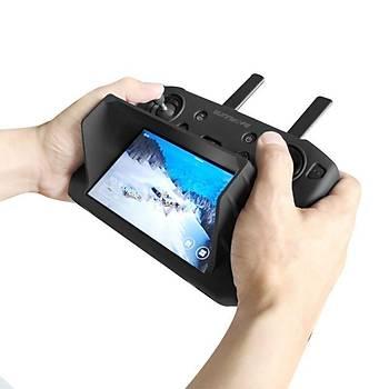 DJI Mavic 2 Zoom Smart Controller Ýçin Silikon Koruyucu Kýlýf ve Güneþ Gölgelik