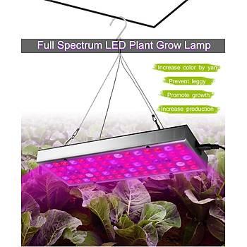 25W Tam Spektrum Panelli LED Bitki Büyümek Iþýk 220V Sera Bahçecilik Ýç Mekan