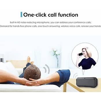Bluetooth 4.0 Suya Dayanýklý Kablosuz Stereo Bas Hoparlör
