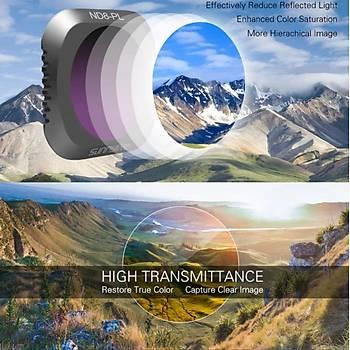 DJI Mavic 2 Pro Kamera Lens Filtre Nötr Yoðunluk Polarize ND8PL