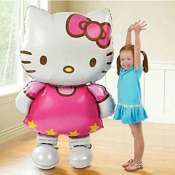 Folyo Balon 92 x 65 Hello Kitty Parti Doðumgünü