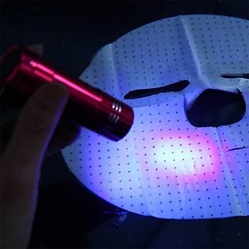 50 ml UV Þeffaf Kristal Jel Kür Yapýþtýrýcý Kafuter K-300 + Kurutucu UV El Feneri
