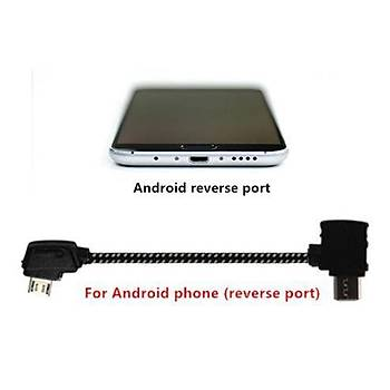 DJI Mavic 2 Zoom Kumanda Android Telefon USB Veri Kablosu TYPE B
