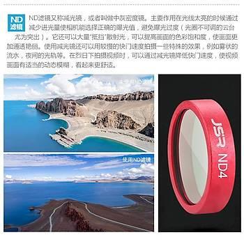 DJI Mavic 2 Zoom Lens HD Optik Cam Filtre Set UV CPL ND4 ND8 ND16 ND32