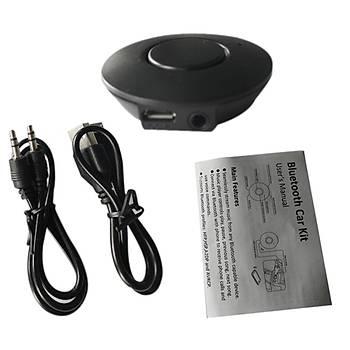 Marsnaska Bluetooth Araç Kiti Stereo Ses ve Müzik Alýcýsý