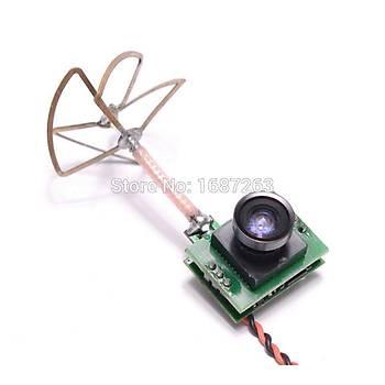 FPV Dron Kamerasý 5.8G Vericili 48CH 25mw VTX 700TVL