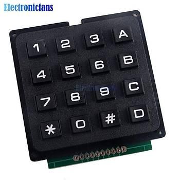 Arduino için 4x4 Matris Dizisi 16 Tuþlu 44 Switch Tuþ Klavye Modülü