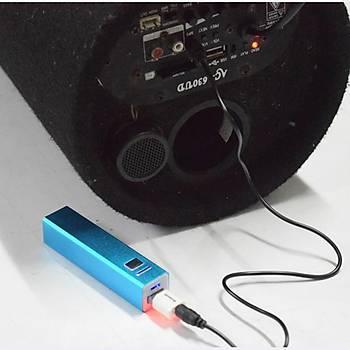 Bluetooth Stereo Müzik Alýcýsý USB 3.5mm RCA AUX Amplifikatör