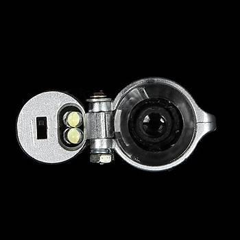 Mikroskop 100X Büyüteç Odaklama Led Iþýklý Kalem Tipi