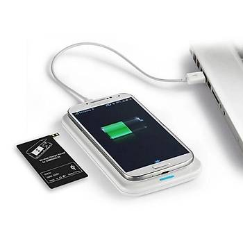 Samsung Note 4 için Qi Kablosuz Þarj Pad'i 600 mah