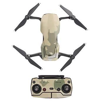 DJI Mavic Air Dron Gövde, Pil ve Kumanda Koruma Çýkartma Tam Set