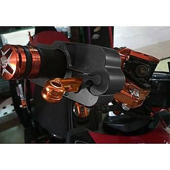Motosiklet Manet Gaz Kolu Kavrama Güvenlik Kilit Alüminyum CNC