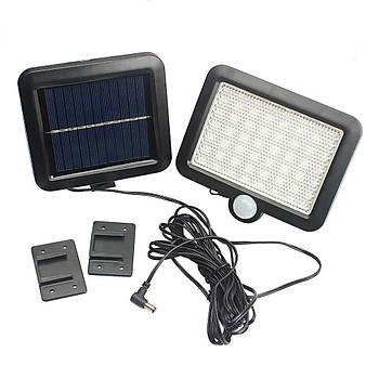56 Led Solar Hareket Sensörlü Su Geçirmez Güvenlik Lambasý