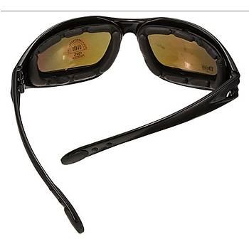 Gözlük DAISY USA MILITARY C5 4 Lensli UV 400