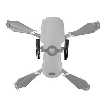 DJI Mavic 2 Pro/Zoom LED Gece Uçuþ Spot Fener Iþýklarý Seti
