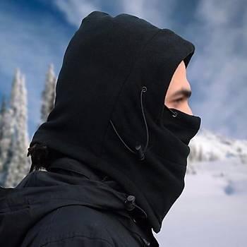 Rüzgar Geçirmez Termal Polar Yüz ve Boyun Maskesi