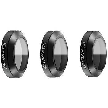 Dji Mavic Pro Gimbal Kamera Lensi Ýçin 3 lü Filtre Set ND4 / ND8 / ND16 2