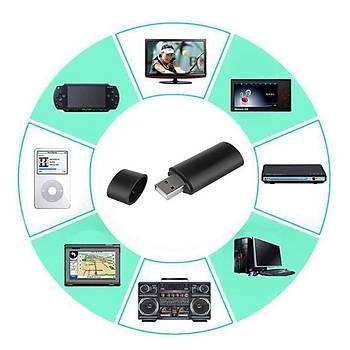 Mini USB Kablosuz Bluetooth Ses Verici Adaptör Müzik Dongle