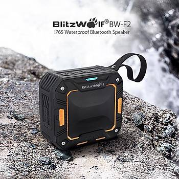 Bluetooth Hoperlör  BlitzWolf® BW-F2 IP65 Su Geçirmez 2000mAh Outdooors Wireless