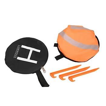 DJI Mavic 2 Zoom 55cm Fosforlu Güvenli Gece Ýniþ Pedi 2 Renk Kolay Katlama