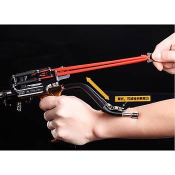 Balýkçýlýk Sapan Zýpkýn Kýyý Balýkçýlýðý Avcýlýk Laser Sling Shot Mancýnýk Sapan Zýpkýn Set