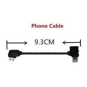 DJI Mavic 2 Pro Kumanda iPhone Telefon USB Veri Kablosu