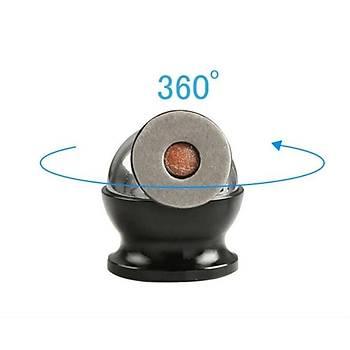 Araç Ýçi 360°Dönebilen Mýknatýslý Telefon Tutucu