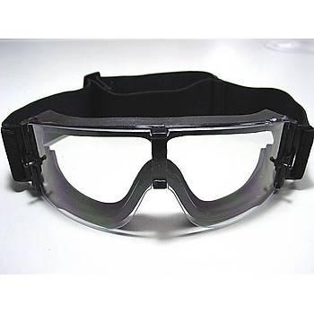 Gözlük 3 Farklý Deðiþtirilebilir Lensli Anti-Sis Taktik Güvenlik