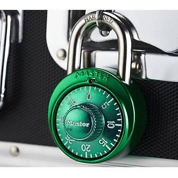 MasterLock Asma Kilit Anti-Hýrsýzlýk Güvenlik 3 Haneli Sabit Kombinasyon Kodlu