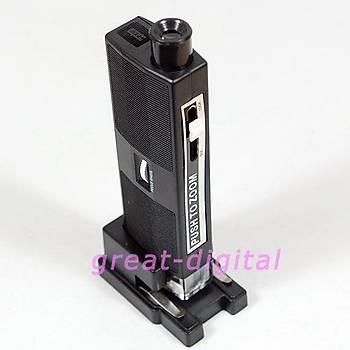 60X-100X Ayarlanabilir Iþýklý Cep Mikroskop Büyüteç