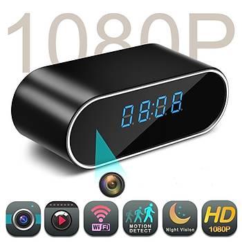 1080 P WiFi Saat Kamera Alarmlý P2P IPAP Gece Görüþ Hareket Algýlama