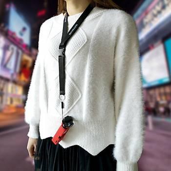 Dji Osmo Pocket Ýçin Renkli Silikon Koruyucu Kýlýf Buyun Askýlý Kordon