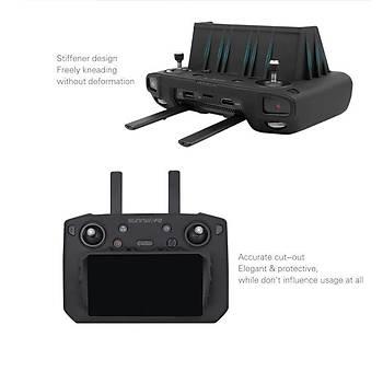 DJI Mavic 2 Pro Smart Controller Ýçin Silikon Koruyucu Kýlýf ve Güneþ Gölgelik