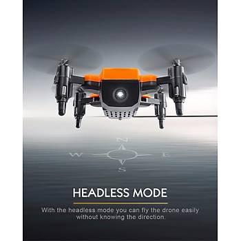 Mini Quadcopter Dron Katlanýr Kollar   2.4GHz 4CH 6 Axis Gyro Cep Boyutu