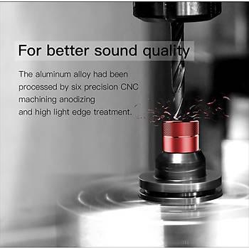 Baseus H04 Bas Hifi Mikrofonlu Kulaklýk Süper Ses Kalitesi Aluminyum Alaþým