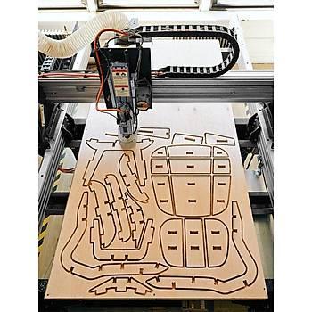 Tungsten Karbür PCB Kesme Oyma CNC Freze Uç 1.5-3.1mm 10lu Set