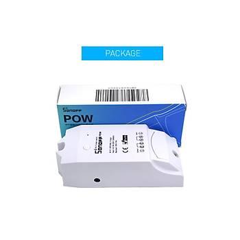 Smart Home SONOFF® POW 16A 3500W WiFi Wireless APP Kontrol Sigorta