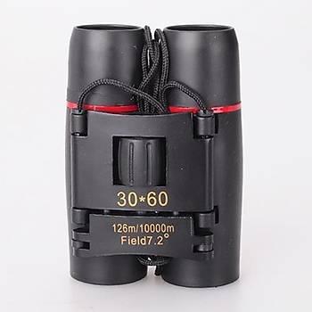 SAKURA 30x60 Katlanýr Taþýnabilir Dürbün Hafif Teleskop