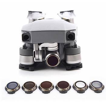 DJI Mavic Pro Gimbal Kamera Lens Filtre 6 lý Set Sunnylife