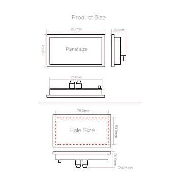 Dijital Ekran DC Güç Volt Amper Pil Test Cihazý