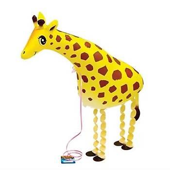 Folyo Balon Zürafa Parti Süsleme Doðumgünü