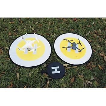 DJI Phantom Pro  80 cm Evrensel Dron Ýniþ Pad Katlanabilir Park Önlük