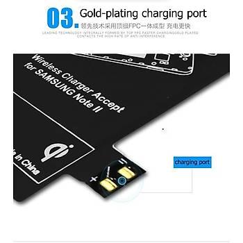 Samsung Note 2 için Qi Kablosuz Þarj Pad'i