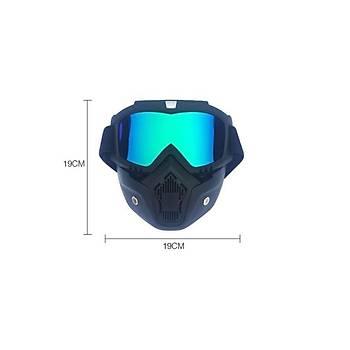 Motor Sürüþ Maskesi Kýþ Sporlarý Kar Kayak Maskesi Daðcýlýk Snowboard Gözlük