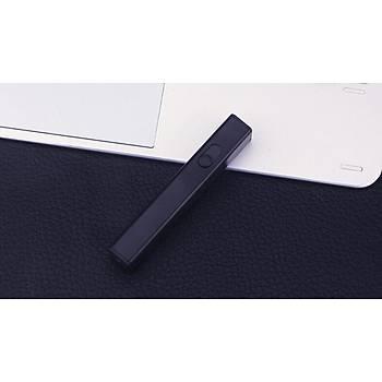 Plazma Ark Elektronik Parmak Çakmak USB ?arjl? 360° Ate?leme