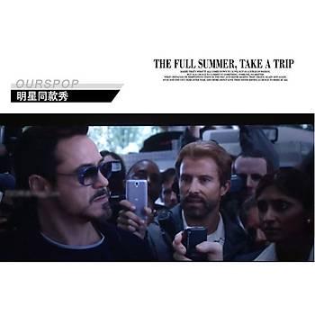 Tony Stark Iron Man Matsuda UV 400 Güneþ Gözlüðü G7