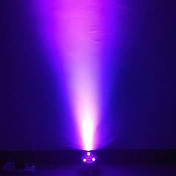 Ultraviyole LED 12x3 36 Watt DMX512 Kür Lambasý KTV Projektör Spot