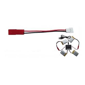JST to XH 2.0mm 1C Lipo Pil Þarj Dönüþtürücü Kablo 9 cm Uzunluk syma X5C hubsan x4