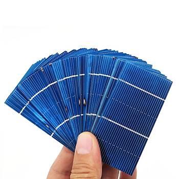 Güneþ Paneli Solar Hücre 0.5V 0.54W 78x39mm 50 Adet DIY Set